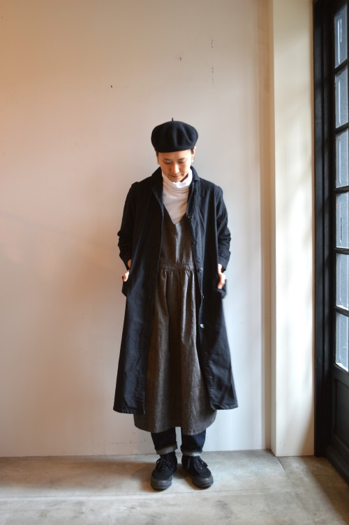 Vintage Black Work Dress ¥33,000+tax