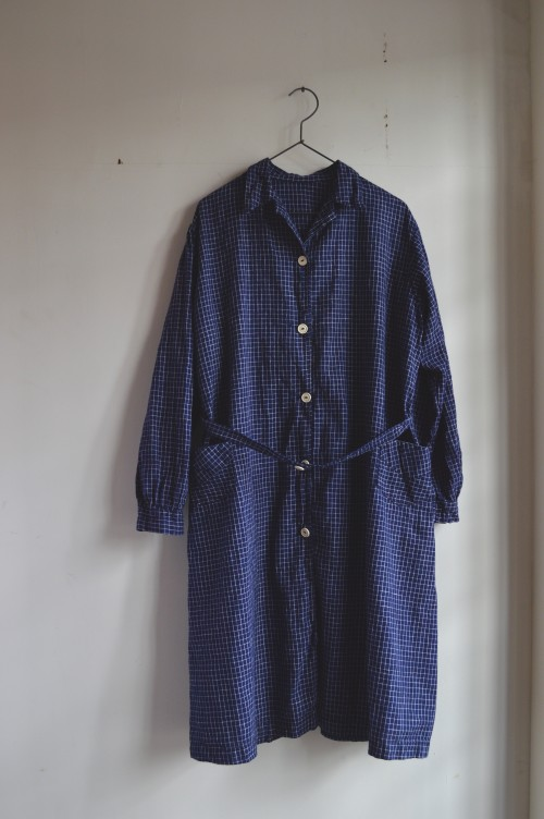 940's Work Coat Dress Dead Stock(未使用) sold