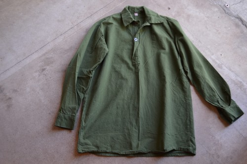Swedish Army Pullover Shirts size 37 / 39 / 41 ¥8,000+tax