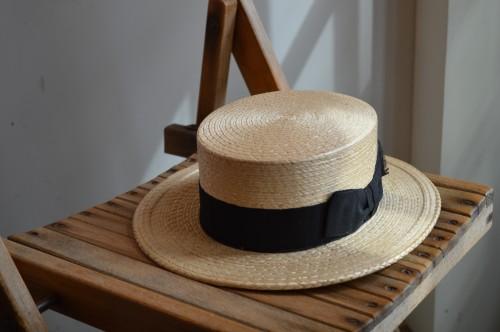 1920's Canotier Hat Dead Stock(未使用) ¥25,000+tax