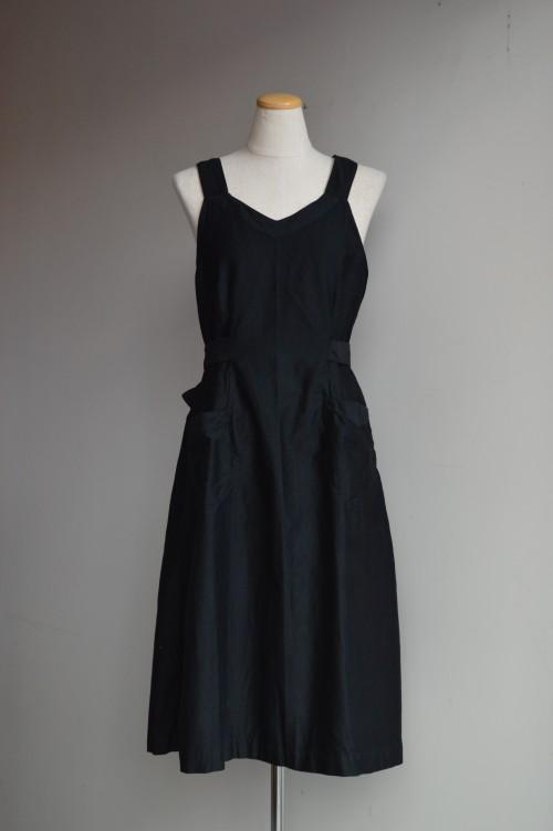 Vintage Black Apron ¥28,000+tax