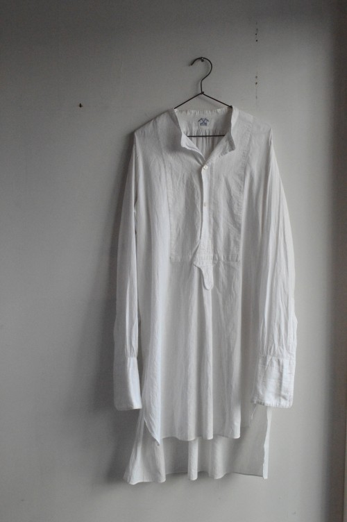 1920's French Vintage Dress Shirts ¥26,000+tax