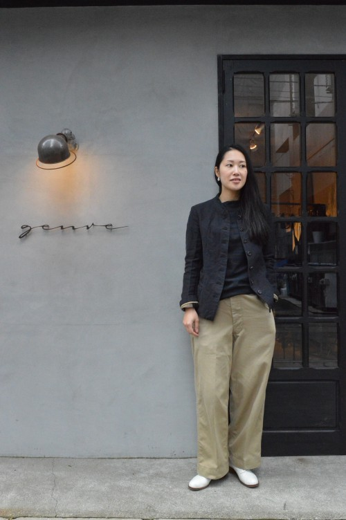 Jacket : Forme D'expression Bottoms : US Army (私物) Shoes : ANATOMICA