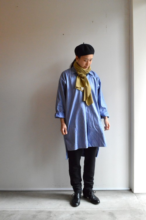 Neck Muffler : Holland Army ¥3,000+tax Shirts : Vintage ¥25,000+tax Bottoms : Merz b.Schwanen ¥20,000+tax