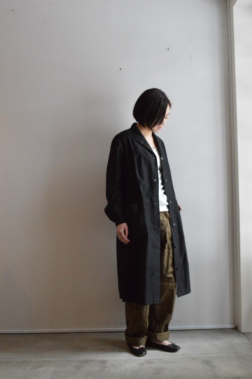 Vintage Black Work Coat ¥88,000+tax French Army M-47 Trousers ¥25,000+tax Schiesser : ¥16,000+tax repetto : ¥34,000+tax