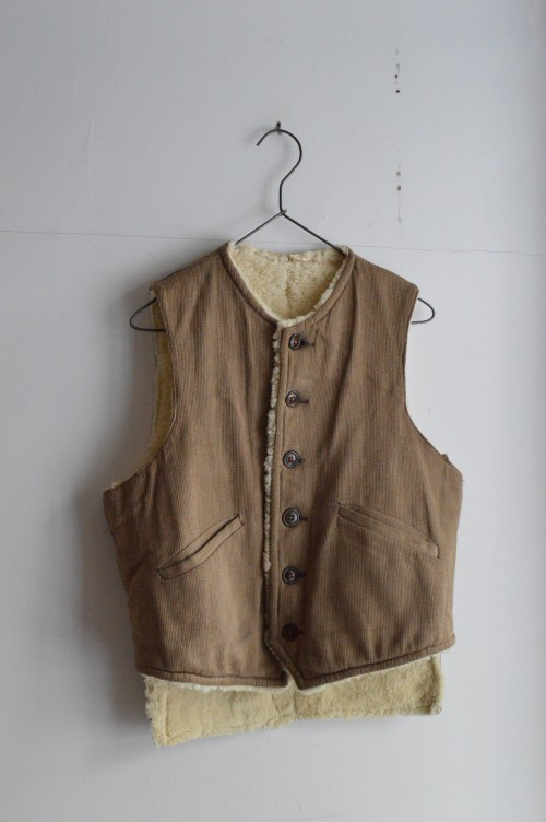 Vintage Vest : ¥58,000+tax
