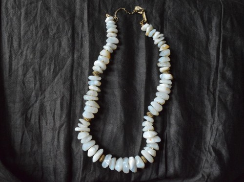 Vintage Miriam Haskell Stone Necklace : ¥35,000+tax