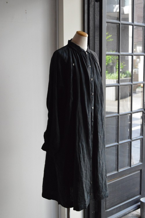 Antique Indigo Linen Biaude : ¥148,000+tax