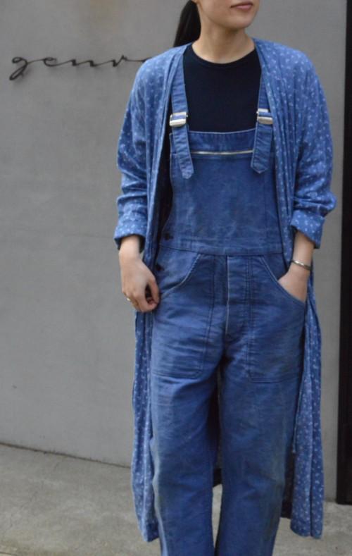 Vintage Moleskin Overall : ¥34,000+tax