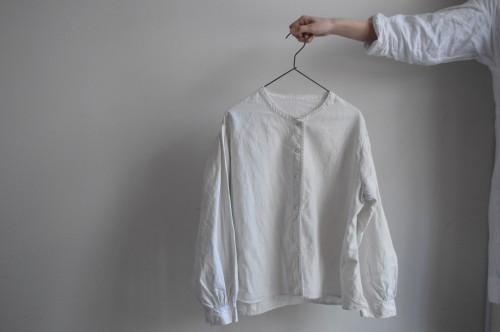 Antique Linen Blouse : ¥42,000+tax