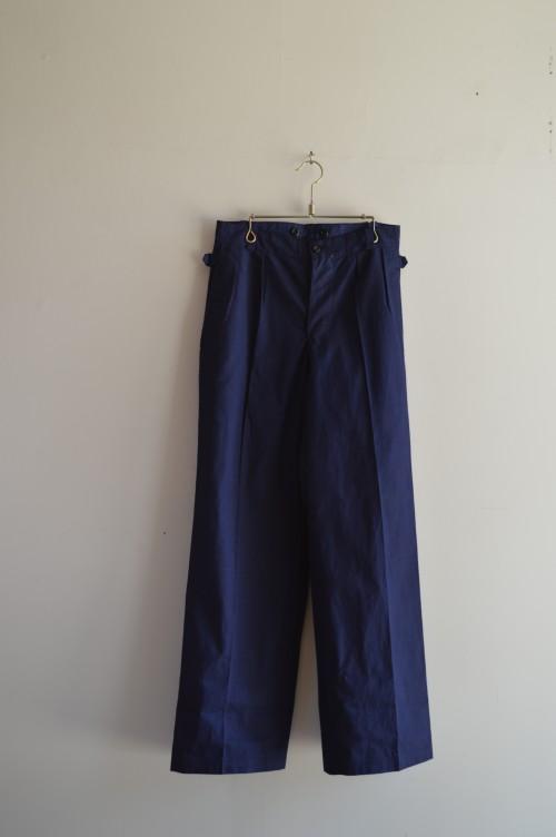 Vintage Cotton×Linen Pants ¥18,000+tax