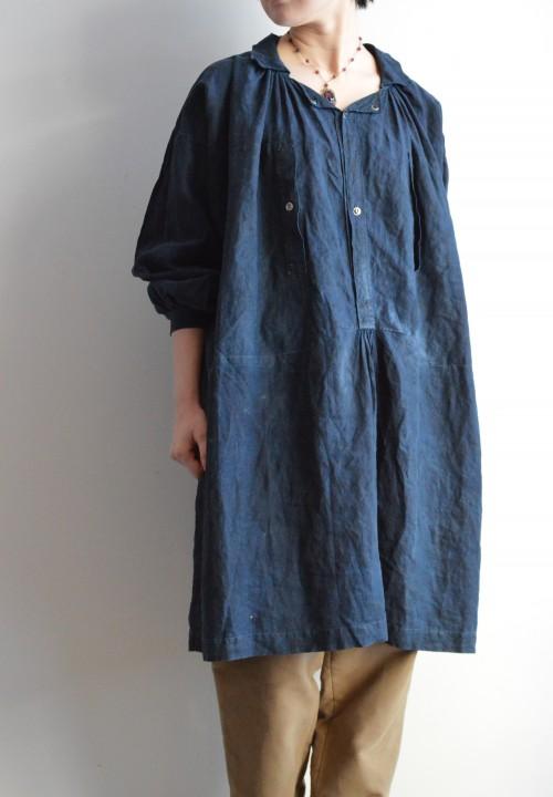Vintage Indigo Smock ¥138,000+tax