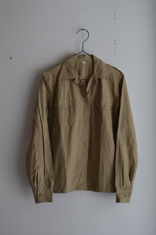 1950's Safari Shirts Dead Stock(未使用) sold