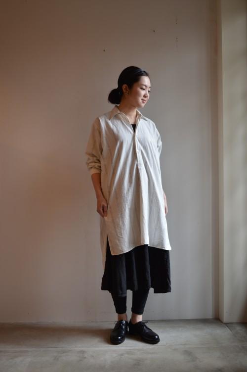 Vintage Stripe Dress Shirt ¥25,000+tax
