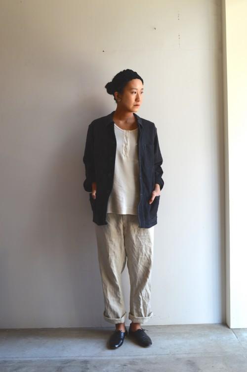 Inner : Schiesser Bottoms : Vintage ¥78,000+tax Shoes : Porselli ¥28,000+tax