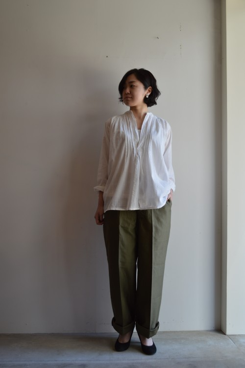 Pierce : Vintage Trifari ¥15,800+tax Bottoms : US Navy 1945 ¥25,000+tax