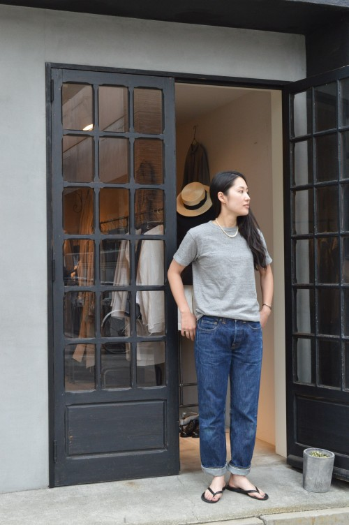 T-shirts : FilMelange Denim : Levi's 501XX (by ARCH HERITAGE WOMENS)