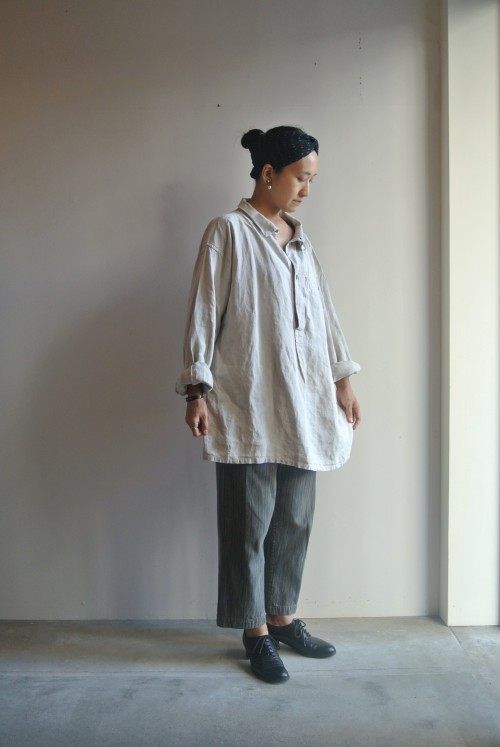 1880's French Army Linen Smock ¥88,000+tax