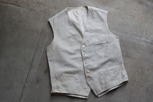 Vintage Stripe Vest ¥19,000+tax