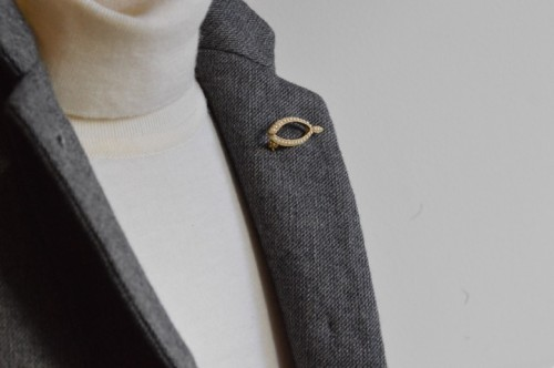 Antique Pearl Brooch ¥15,800+tax