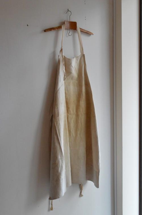 Vintage Linen Apron ¥17,000+tax