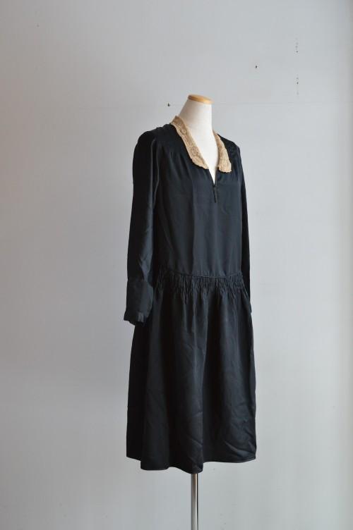 1920's Silk Dress ¥42,000+tax