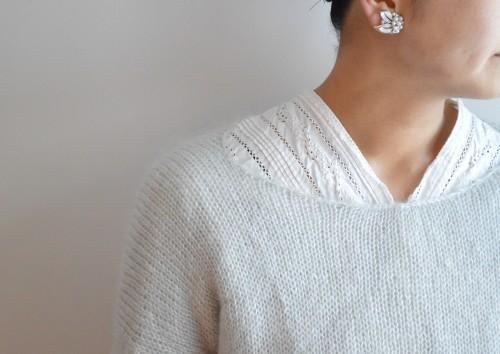 Turfier Silver Earrings : ¥14,000+tax