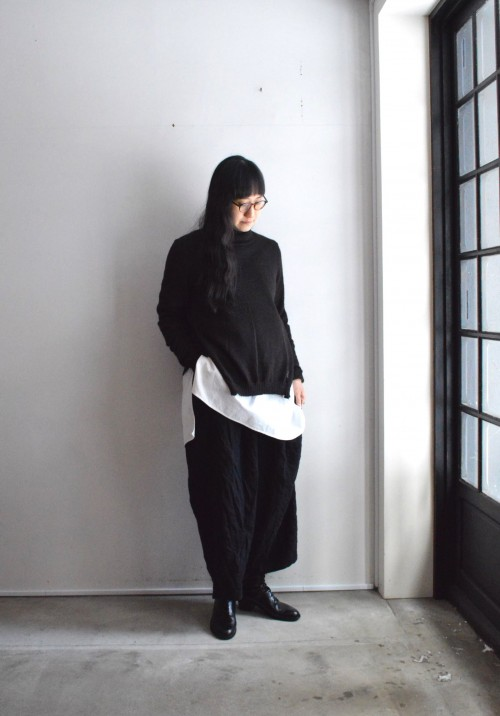 Sweater : CABINET Shirts : Vintage Pants : Forme D'expression
