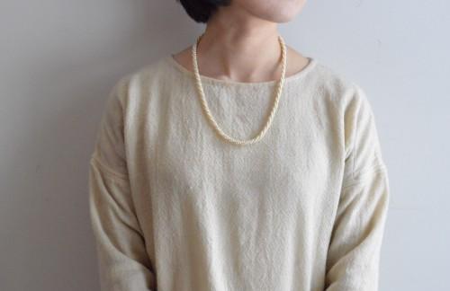 Vintage Pearl Twist Necklace : ¥18,000+tax