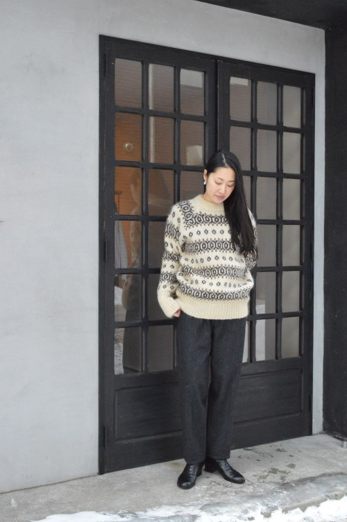 Sweater : Vintage ¥13,000+tax Pants : Colenimo ¥48,000+tax