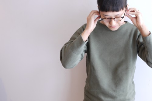 French Army Cotton Sweat : ¥8,800+tax