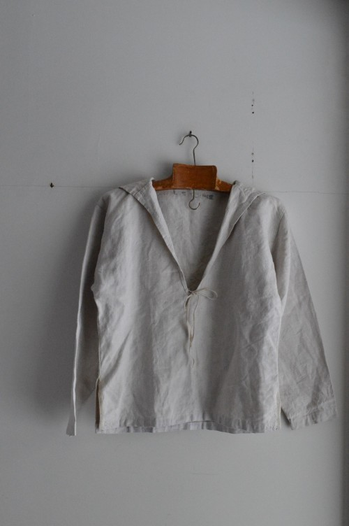 Vintage Royal Navy Linen Sailor : ¥48,000+tax