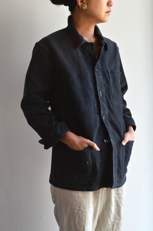 Vintage Black Moleskin Jacket ¥38,000〜¥42,000