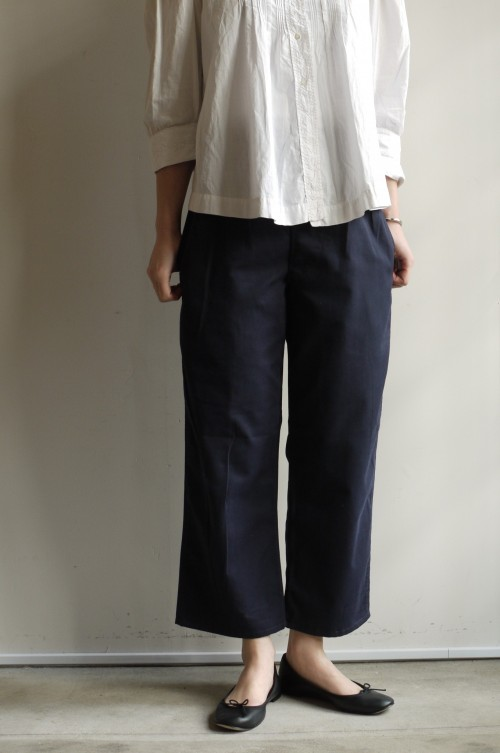 1960's Royal Navy Trousers : ¥13,800+tax (身長 162㎝)