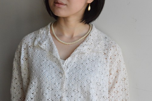 Pierce : Vintage Trifari ¥16,000+tax Necklace : Vintage ¥18,000+tax