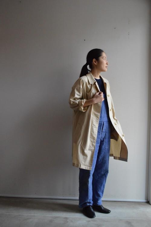 Vintage Burburrys' Satin Collar Coat : ¥48,000+tax