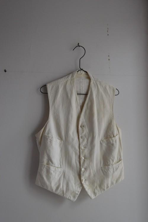 Vintage Vest : ¥38,000+tax