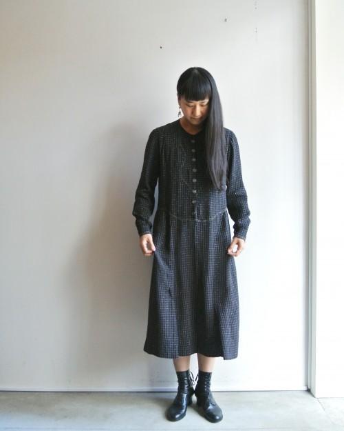 Antique Silk Dress : ¥58,000+tax